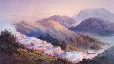 """Nuova Zelanda, ecco l'ottava meraviglia scomparsa: """"Le piscine rosa sono qui""""   ·foto"""