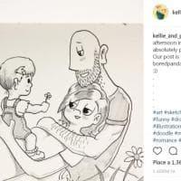Un disegno al giorno per 5 anni: così il fumettista Duffield racconta il suo amore per Kellie