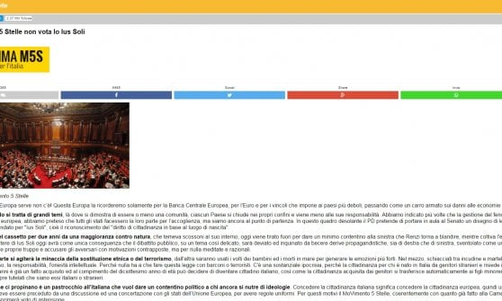 Ius soli, discussione in Senato: è bagarre. Contusa ministra Fedeli e Boldrini dice basta alla violenza in Aula