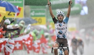 Ciclismo, Giro della Svizzera: colpo doppio di Pozzovivo