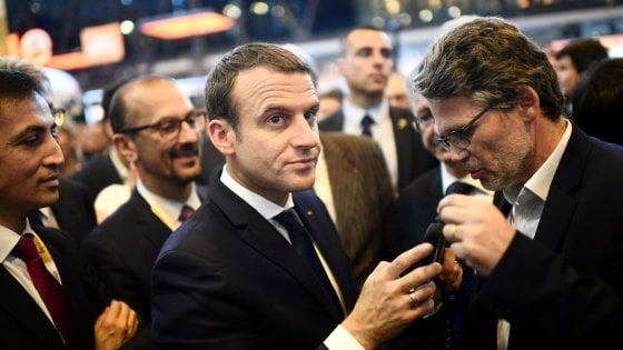 """""""La Francia, una nazione startup"""": Macron lancia un fondo da 10 mld di euro"""