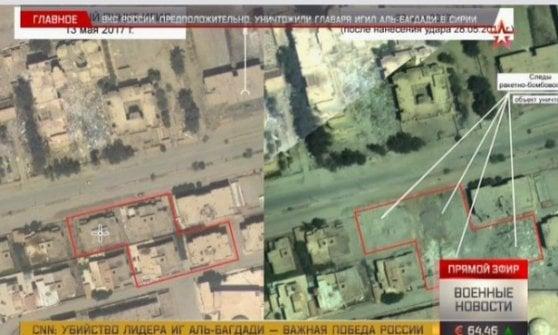 """Siria, Difesa Russia: """"califfo"""" al-Baghdadi forse ucciso da nostro raid. Comando Usa: non possiamo confermare"""