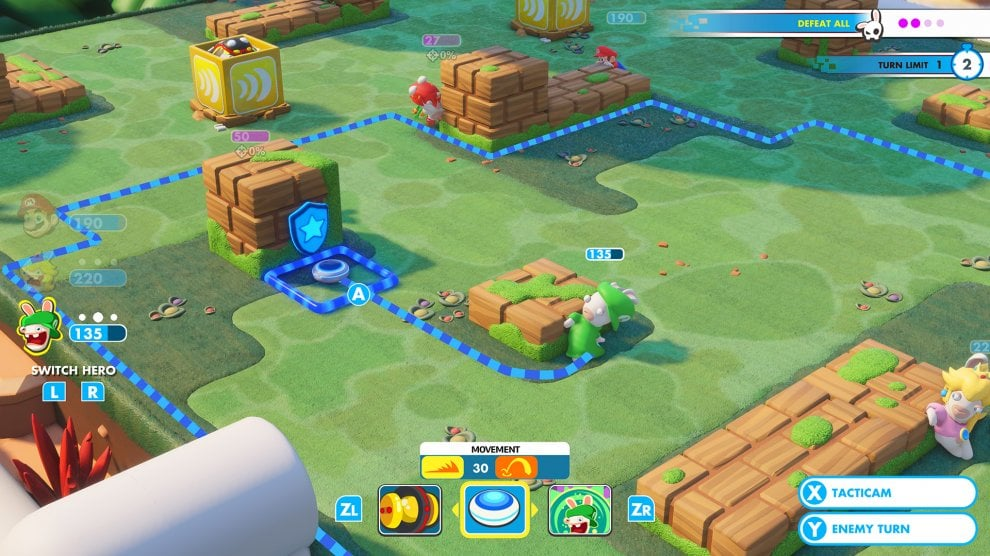 Mario + Rabbids: Kingdom Battle, il videogame Made in Italy