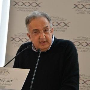"""Fca, Marchionne garantisce: """"Piena occupazione in Italia nel 2018"""""""