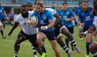 Rugby, Italia punita allo scadere: con le Fiji ko amaro