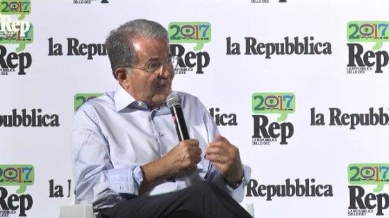 """Prodi: """"La sinistra torni a dialogare oltre un tweet"""". Trump? """"Ha resuscitato la Ue"""""""