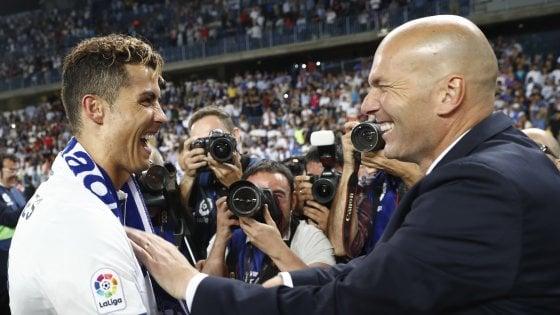 "Real Madrid, Zidane chiama Ronaldo: ""Resta con noi"""