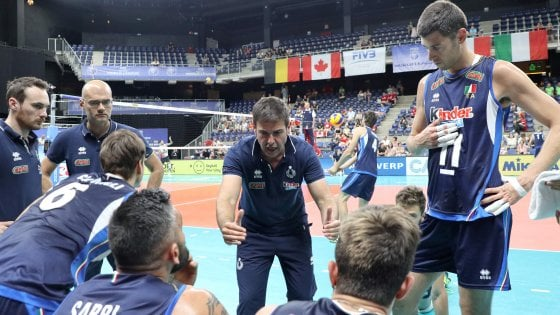 Volley, World League: l'Italia chiude con un'altra sconfitta