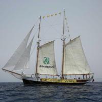 Salpa da La Spezia Goletta Verde, 21 tappe fino al 12 agosto