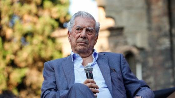"""Mario Vargas Llosa a RepIdee17:  """"Il populismo è il vero nemico della democrazia"""""""