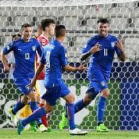 Europei U21, Danimarca-Italia 0-2: Pellegrini e Petagna fanno sorridere