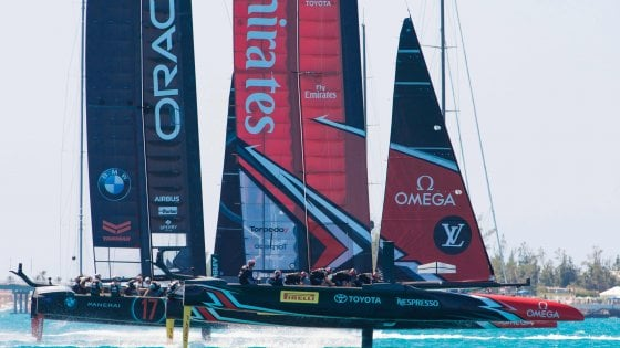 Vela, Americas Cup: New Zealand avanti 3-0 su Oracle