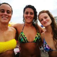 Imperia, le ragazze del Setterosa salvano tre bagnanti in difficoltà