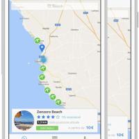 Coco, la spiaggia in un'app