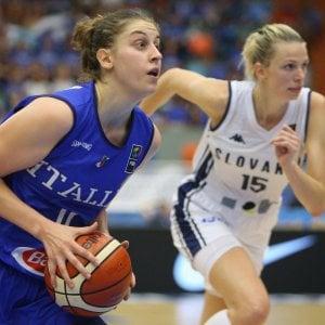 Basket, Europei femminili: Slovacchia battuta, Italia in corsa per i quarti di finale