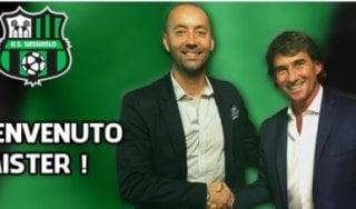 Sassuolo, è ufficiale: Cristian Bucchi è il nuovo allenatore