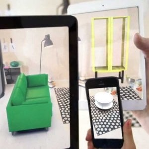 Ikea ecco l 39 app con apple per arredare in realt for Ikea programma per arredare