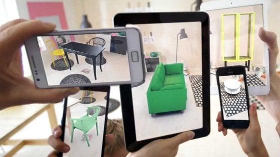 Ikea ecco l 39 app con apple per arredare in realt for Programma arredamento ikea