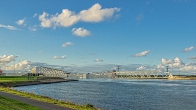 Rotterdam tra terra e acqua, esempio di resilienza per l'Europa e per il mondo /   Foto