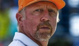 Tennis, non paga debito di 6 milioni: bancarotta per Boris Becker