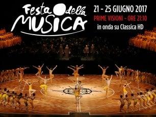 ClassicaHd, cinque serate per celebrare la Festa della Musica