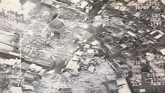 Iraq: distrutta al-Nouri, la moschea in cui Al Baghdadi annunciò la rinascita del Califfato