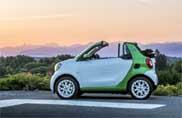 Smart Cabrio, l'estate diventa elettrica
