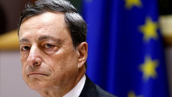 """Bce: """"Crescita superiore alle attese, no a nuovi tagli dei tassi"""""""