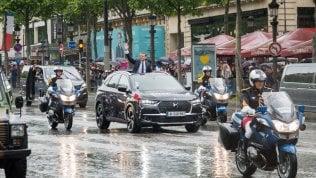 DS7 Crossback, l'auto di Macron  senza segreti Foto