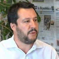 """Salvini a RepTv: """"Lo Ius soli è un errore culturale"""""""