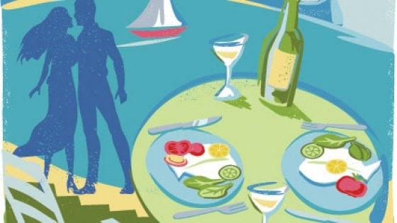 A tavola in riva al mare
