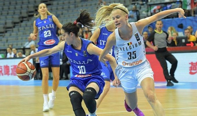 Basket donne, Europei: all'Italia non basta il cuore, ko nei quarti con il Belgio