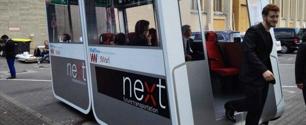 L'autobus del futuro è servito