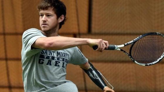 La favola di Alex Hunt: il primo tennista disabile ad entrare nella classifica dei professionisti
