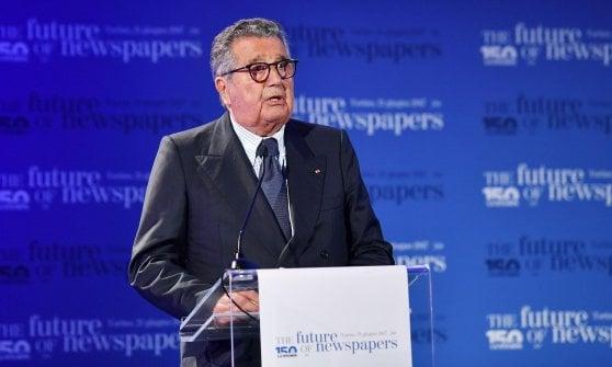 Gedi: Carlo De Benedetti lascia la presidenza, al suo posto il figlio Marco
