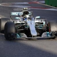 F1, Gp Azerbaigian: terze libere a Bottas, problemi per Vettel