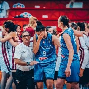 Basket donne, Europeo: Italia, che beffa. Ko con la Lettonia, niente mondiale