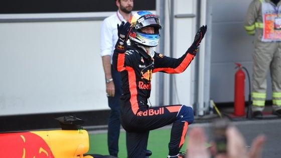 F1, sorpresa a Baku: vince Ricciardo davanti a Bottas, terzo Stroll