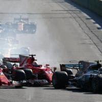 F1, Vettel a Hamilton: ''Non si fa così''. La replica: ''Comportamento non da campione''