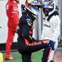 F1, Gp Azerbaigian: la festa di Ricciardo sul podio