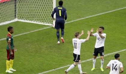 Germania vince il girone  anche il Cile in semifinale