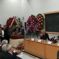 """""""Un maestro di diritto e di vita"""", alla Sapienza i funerali di Rodotà"""