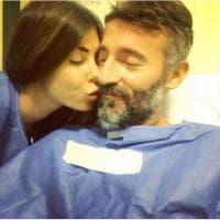 Biaggi-Atzei, prima foto dopo l'incidente: il compleanno in ospedale dell'ex pilota