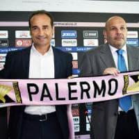 Palermo, Tedino e Lupo si presentano: