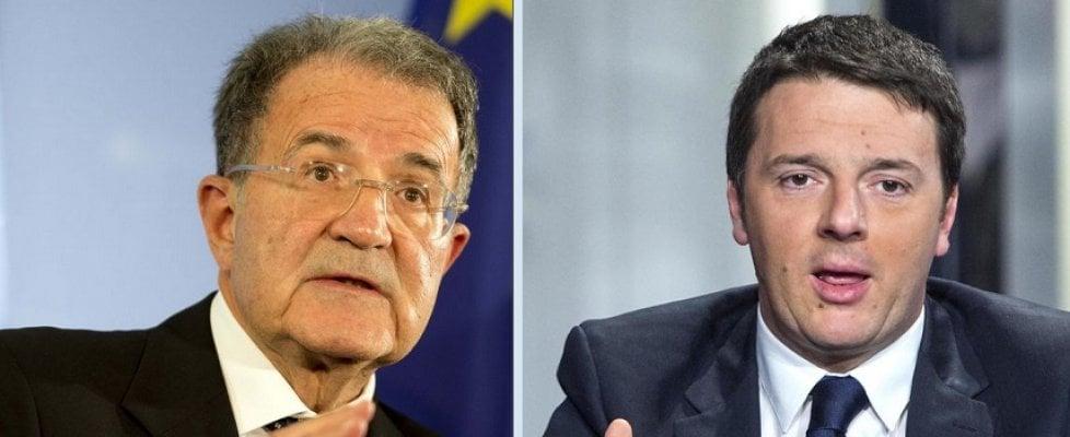 """Rivolta contro Renzi, Prodi: """"Stare più lontano? Già fatto"""". Orlando: """"Ora il Pd cambi linea"""""""
