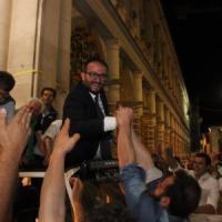 """Da CasaPound a Berlusconi. Il neo sindaco Pierluigi Biondi e il modello L'Aquila: """"Da qui..."""