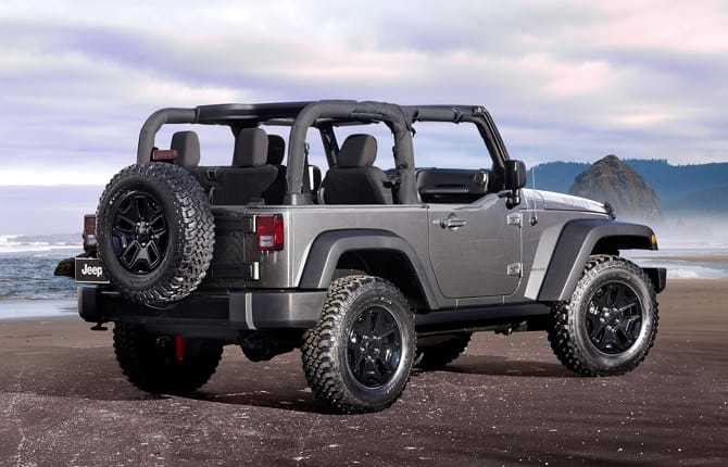 La Wranger? E' la più americana delle Jeep