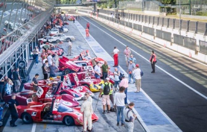 Monza Historic, le classiche vanno di fretta
