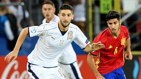 """Euro U21, mea culpa di Gagliardini: """"Rosso imperdonabile, chiedo scusa a tutti"""""""