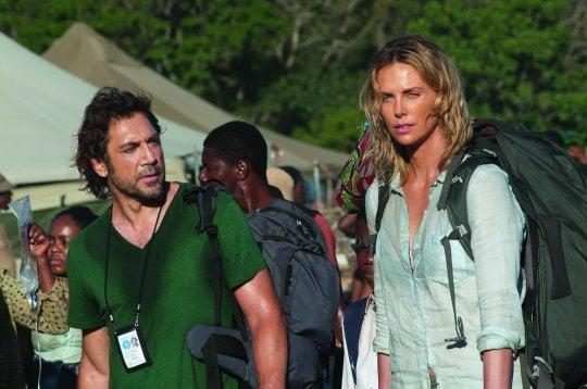 'Il tuo ultimo sguardo', Javier, Charlize e Sean: troppo belli per essere veri